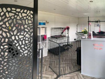 Coventry Garden Room Dog Groomer Finishing Inside Piece