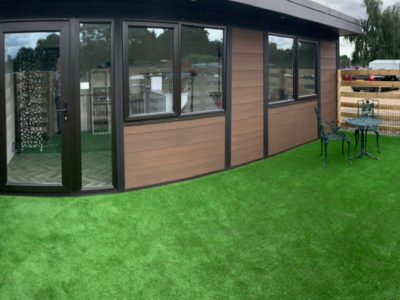 Coventry Garden Room Dog Groomer Finishing Outside Piece