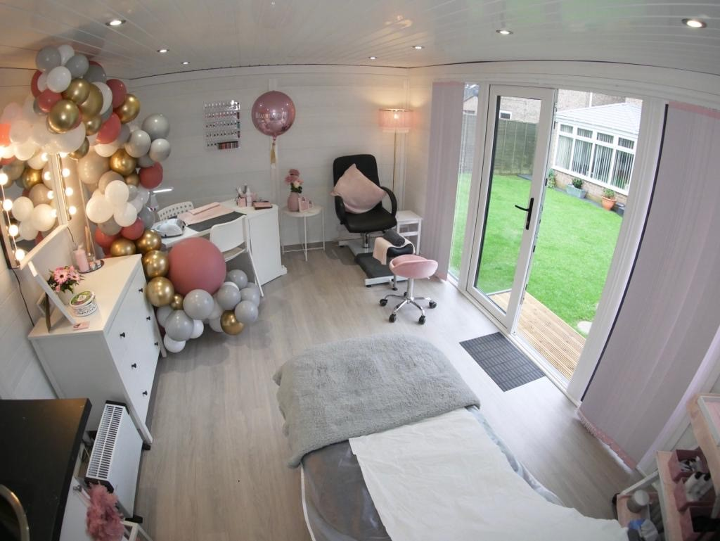 Composite Garden Room Beauticians In Coventry Inside Shot 2